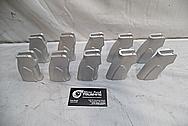 Cobalt Kinetics AR-15 Aluminum Handgrip BEFORE Chrome-Like Metal Polishing and Buffing Services