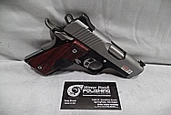 Kimber CDP II Custom Shop Aluminum Frame 1911 Gun BEFORE Chrome-Like Metal Polishing and Buffing Services / Restoration Services