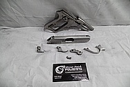 Carl Walther Modell PPK/S 9mm Kirz/.380ACP Interarms Stainless Steel Semi-Automatic Gun / Pistol BEFORE Chrome-Like Metal Polishing and Buffing Services / Restoration Services