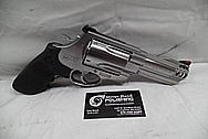 S&W / Smith & Wesson Model 500 Stainless Steel Revolver / Gun BEFORE Chrome-Like Metal Polishing and Buffing Services / Restoration Services