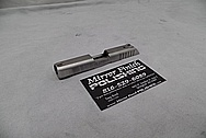 Ruger LCP Stainless Steel Slide BEFORE Chrome-Like Metal Polishing and Buffing Services - Stainless Steel Polishing Services