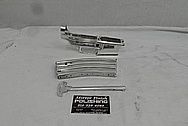 AR15 Aluminum Gun Parts BEFORE Chrome-Like Metal Polishing and Buffing Services / Restoration Services - Aluminum Polishing