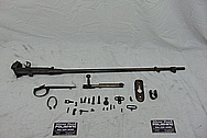 WWII Steel Rifle BEFORE Chrome-Like Metal Polishing and Buffing Services - Steel Polishing - Gun Polishing