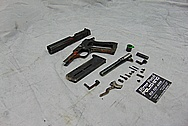 Star Bonifacio Echeverria S.A. 9mm Stainless Steel Gun BEFORE Chrome-Like Metal Polishing and Buffing Services - Steel Polishing - Gun Polishing