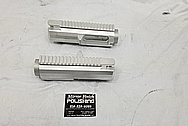 AR15 .308 Aluminum Gun Parts BEFORE Chrome-Like Metal Polishing - Aluminum Polishing - Gun Polishing