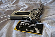 Taurus 1911 Pistol Steel Gun Part(s) BEFORE Chrome-Like Metal Polishing and Buffing Services