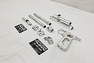 AR-15 Aluminum Machined Gun Parts BEFORE Chrome-Like Metal Polishing - Aluminum Polishing