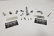 Gun Parts BEFORE Titanium Nitride Coating for Gold Look - Plus Special Polishing Process for Coating