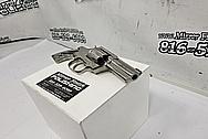Stainless Steel Colt King Cobra Gun / Revolver BEFORE Chrome-Like Metal Polishing and Buffing Services / Restoration Services - Stainless Steel Polishing