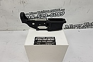 Aluminum AR-15 Lower Receiver BEFORE Chrome-Like Metal Polishing and Buffing Services / Restoration Services - Aluminum Polishing