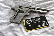 Carl Walther PPK 9MM Pistol Gun Part(s) BEFORE Chrome-Like Metal Polishing and Buffing Services