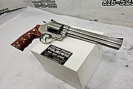 S&W - Smith & Wesson .44 Magnum Revolver BEFORE Chrome-Like Metal Polishing and Buffing Services / Restoration Services