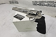 Smith and Wesson S&W 500 Magnum Revolver Gun BEFORE Chrome-Like Metal Polishing and Buffing Services - Stainless Steel Polishing - Gun Polishing