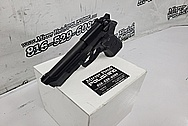 Beretta 92FS 9mm Semi - Auto Stainless Steel Gun BEFORE Chrome-Like Metal Polishing and Buffing Services - Stainless Steel Polishing - Gun Polishing