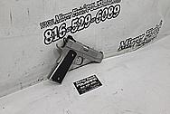 Kimber .45 1911 Auto Stainless Steel Gun Project BEFORE Chrome-Like Metal Polishing and Buffing Services / Restoration Services - Stainless Steel Polishing - Gun Polishing
