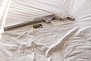 Aluminum Rifle Stock BEFORE Chrome-Like Metal Polishing and Buffing Services / Restoration Services