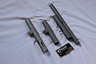 Stainless Steel Paintball Gun Parts BEFORE Chrome-Like Metal Polishing and Buffing Services / Restoration Services