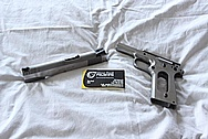 Springfield Armory Model 1911-A1 Stainless Steel Gun / Pistol BEFORE Chrome-Like Metal Polishing and Buffing Services / Restoration Services
