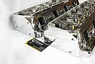 Kaasep-38 Aluminum Engine Cylinder Heads AFTER Chrome-Like Metal Polishing and Buffing Services / Resoration Services