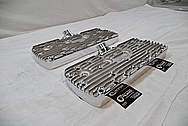 Edelbrock Aluminum Cylinder Heads Cylinder Heads AFTER Chrome-Like Metal Polishing and Buffing Services / Restoration Services