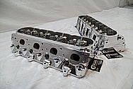 GM Aluminum LSX Race Cylinder Heads AFTER Chrome-Like Metal Polishing and Buffing Services / Restoration Services