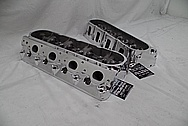 Aluminum Cylinder Heads AFTER Chrome-Like Metal Polishing and Buffing Services / Restoration Services - Aluminum Polishing Services