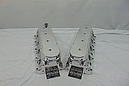 Aluminum Cylinder Heads AFTER Chrome-Like Metal Polishing - Aluminum Polishing