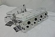 Aluminum Cylinder Heads AFTER Chrome-Like Metal Polishing - Aluminum Polishing