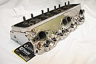 1994 Chevy ZR-1 Corvette V8 Aluminum Cylinder Head AFTER Chrome-Like Metal Polishing and Buffing Services