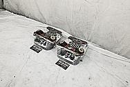Harley Davidson Aluminum Cylinder Heads AFTER Chrome-Like Metal Polishing - Aluminum Polishing