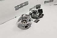 Edelborck Aluminum Cylinder Heads AFTER Chrome-Like Metal Polishing - Aluminum Polishing