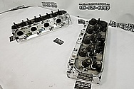 Pro MAXX Aluminum Cylinder Heads AFTER Chrome-Like Metal Polishing and Buffing Services / Restoration Services