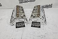 Edelbrock E210 Aluminum Cylinder Heads AFTER Chrome-Like Metal Polishing - Aluminum Polishing