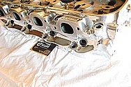 Brodix Aluminum V8 Cylinder Head AFTER Chrome-Like Metal Polishing and Buffing Services