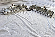 Eddie Meyer Hollywood Aluminum Cylinder Heads AFTER Chrome-Like Metal Polishing and Buffing Services