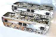 Aluminum Cylinder Head AFTER Chrome-Like Metal Polishing and Buffing Services / Resoration Services