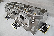Aluminum V8 Cylinder Heads BEFORE Chrome-Like Metal Polishing and Buffing Services / Restoration Services