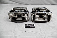 Dart Aluminum Cylinder Heads BEFORE Chrome-Like Metal Polishing and Buffing Services / Restoration Services
