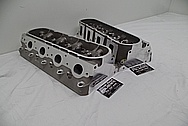 Aluminum Cylinder Heads BEFORE Chrome-Like Metal Polishing and Buffing Services / Restoration Services - Aluminum Polishing Services