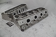 Aluminum Cylinder Heads BEFORE Chrome-Like Metal Polishing - Aluminum Polishing