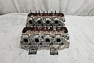 Aluminum Cylinder Heads BEFORE Chrome-Like Metal Polishing - Aluminum Polishing