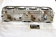 KRE Aluminum Cylinder Heads BEFORE Chrome-Like Metal Polishing and Buffing Services