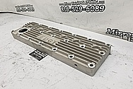 Edgy Straight 6 Plymouth Rough Cast Finned Aluminum Cylinder Head BEFORE Chrome-Like Metal Polishing - Aluminum Polishing - Cylinder Head Polishing