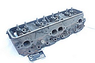 1994 Chevy ZR-1 Corvette V8 Aluminum Cylinder Head BEFORE Chrome-Like Metal Polishing and Buffing Services