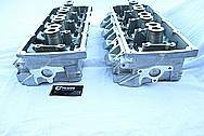 Dodge Hemi 6.lL Engine Aluminum Engine Cylinder Heads BEFORE Chrome-Like Metal Polishing and Buffing Services