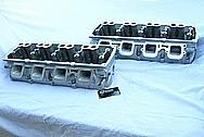 Dodge Hemi 6.lL Engine Aluminum Engine Cylinder Heads BEFORE Chrome-Like Metal Polishing and Buffing Services