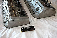 Dart Aluminum Cylinder Head BEFORE Chrome-Like Metal Polishing and Buffing Services / Resoration Services