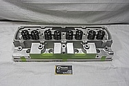 Mondello V8 Engine Aluminum Cylinder Heads BEFORE Chrome-Like Metal Polishing and Buffing Services / Resoration Services