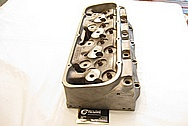 Brodix Aluminum V8 Cylinder Head BEFORE Chrome-Like Metal Polishing and Buffing Services