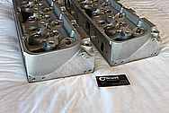 Brodix Big Brodie Aluminum Engine Cylinder Heads BEFORE Chrome-Like Metal Polishing and Buffing Services / Resoration Services